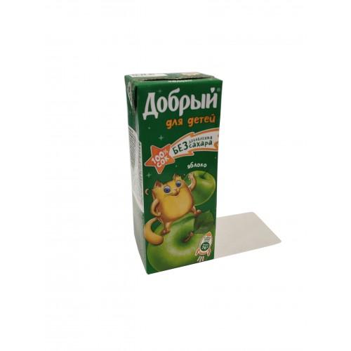 Сок Добрый 0,2 л. (яблоко)